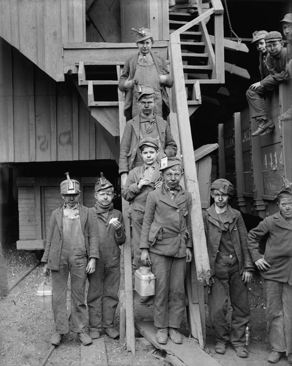 History Poster featuring the photograph Dust Covered Breaker Boys by Everett