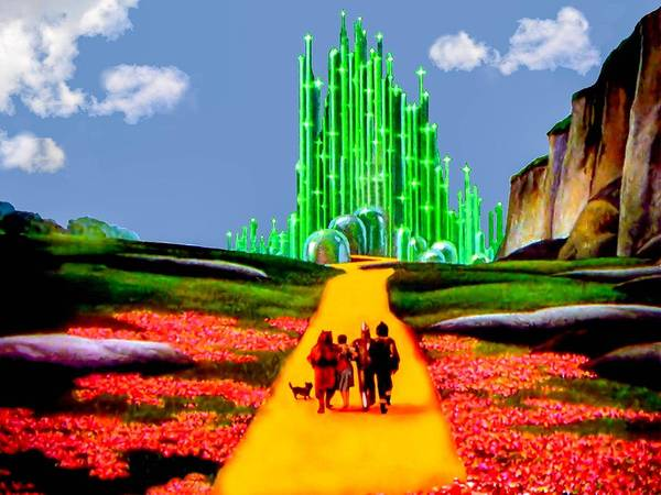 Wizard Of Oz Poster featuring the photograph Emerald City by Tom Zukauskas