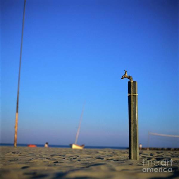 Beach Poster featuring the photograph Faucet by Bernard Jaubert