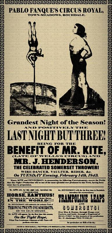 Beatles Poster featuring the digital art For The Benefit Of Mr Kite by Bill Cannon