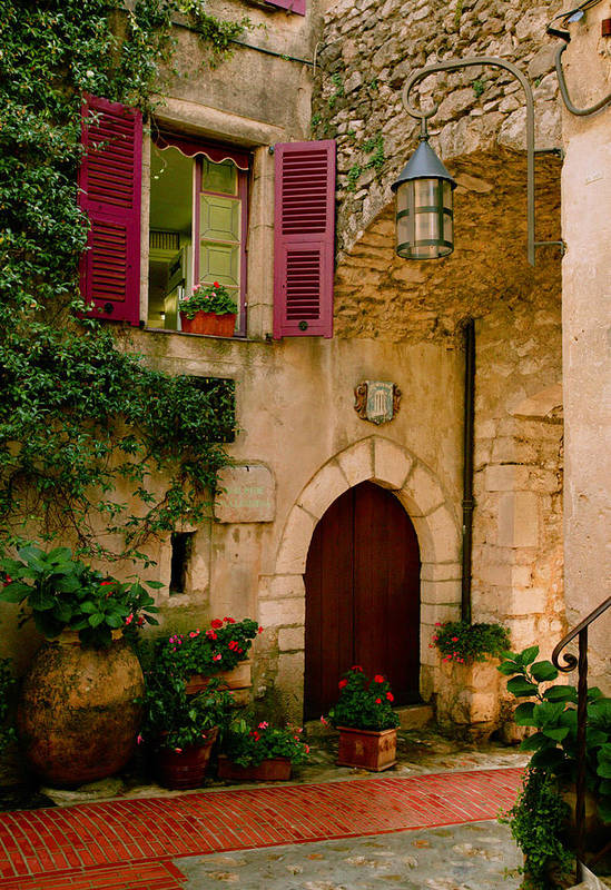 Provence Poster featuring the photograph Hostelliere by John Galbo