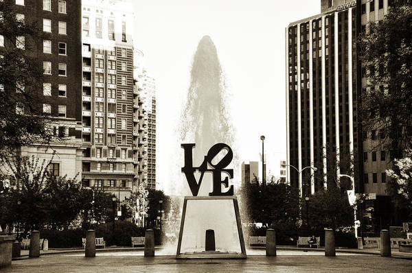 I Love Philadelphia Poster featuring the photograph I Love Philadelphia by Bill Cannon
