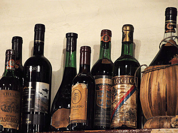 Wine Poster featuring the photograph Italian Wine by Marion McCristall
