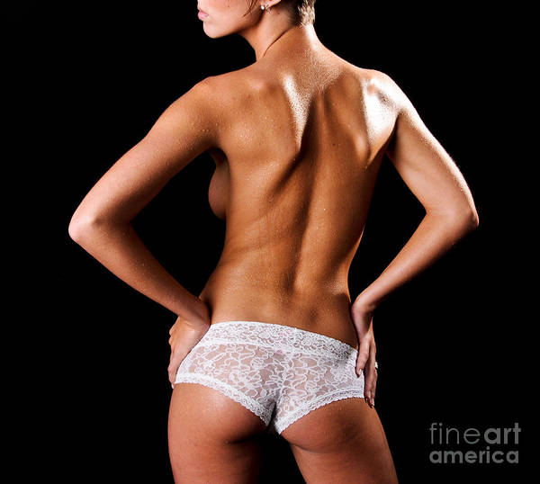 Art Poster featuring the photograph Lace Panties by Jt PhotoDesign