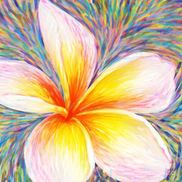Aloha Poster featuring the painting Leelawadee by Atiketta Sangasaeng