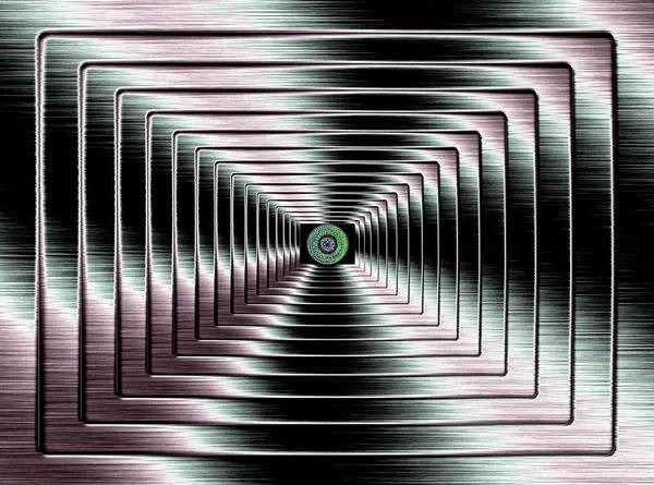 Abstract Poster featuring the digital art Luminous Energy 4 by Will Borden