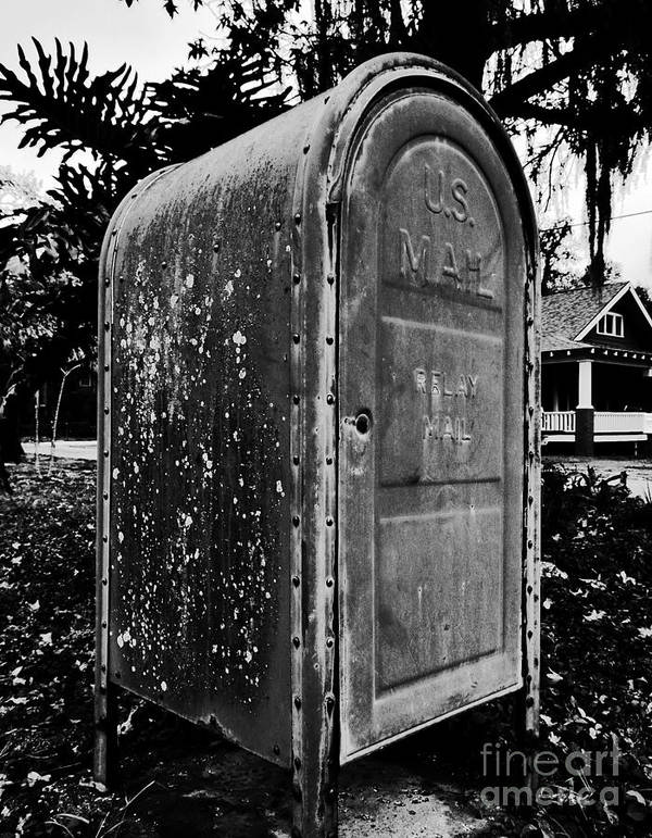 Mail Box Poster featuring the photograph Mail Box by David Lee Thompson