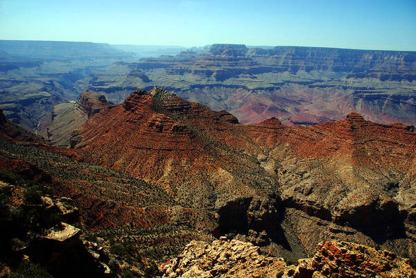 Grand Canyon Poster featuring the photograph Majestic View by Susanne Van Hulst
