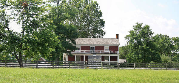 Appomattox Poster featuring the photograph Mclean House Appomattox Court House Virginia by Teresa Mucha