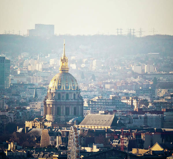 Horizontal Poster featuring the photograph Montmartre Sacre Coeur by By Corsu sur FLICKR