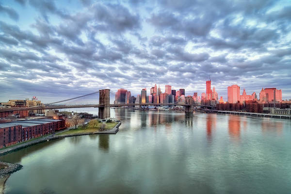 Horizontal Poster featuring the photograph New York City by Photography by Steve Kelley aka mudpig