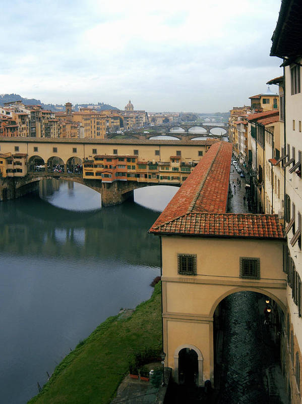Italy Poster featuring the photograph Ponte Vecchio by Warren Home Decor