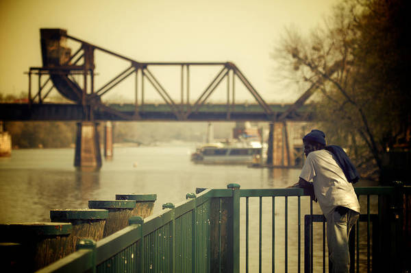 Augusta Poster featuring the photograph Riverwalk by Patrick Biestman