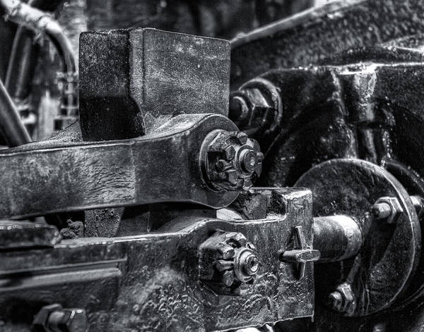 Machinery Poster featuring the photograph Rods Of Steel by Scott Wyatt
