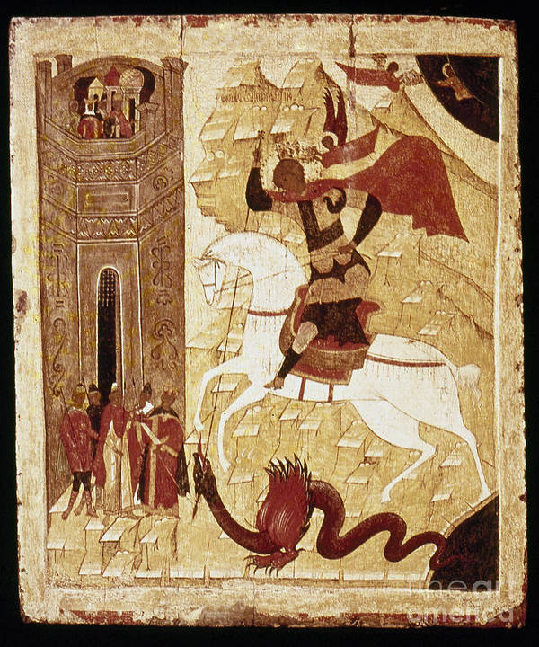 16th Century Poster featuring the photograph Russia: Icon by Granger
