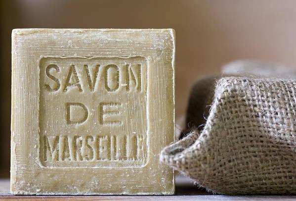 Frank Tschakert Poster featuring the photograph Savon De Marseille by Frank Tschakert