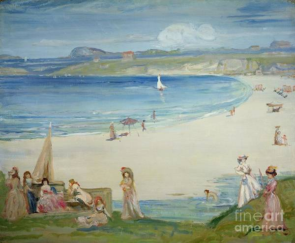 Silver Poster featuring the painting Silver Sands by Charles Edward Conder