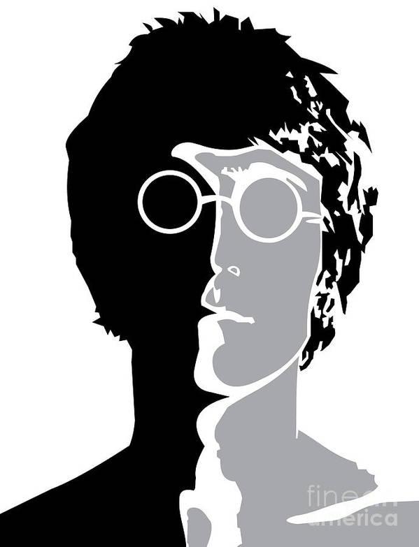 Artwork Poster featuring the digital art The Beatles No.08 by Caio Caldas