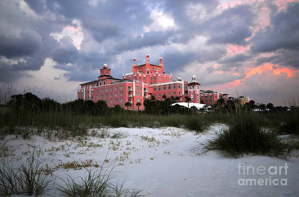 Don Cesar Hotel Poster featuring the photograph The Don Cesar by David Lee Thompson