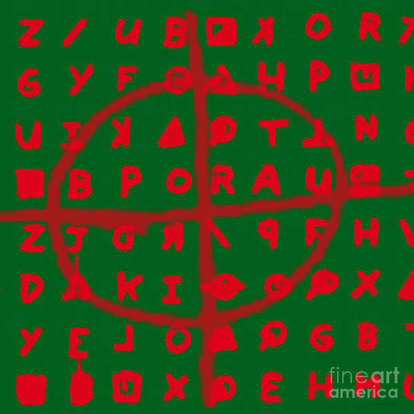 Zodiac Poster featuring the photograph Zodiac Killer Code And Sign 20130213 by Wingsdomain Art and Photography
