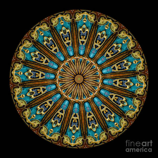 Fantasy Print featuring the photograph Kaleidoscope Steampunk Series by Amy Cicconi