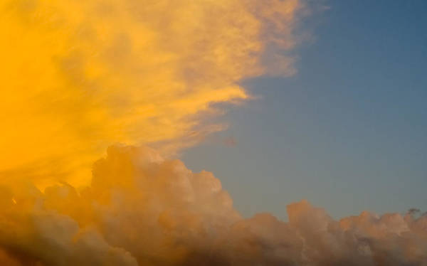 Sky Print featuring the photograph Sky Fire 002 by Tony Grider