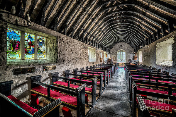 Religion Print featuring the photograph Church Of St Mary by Adrian Evans