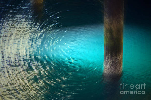 Water Print featuring the photograph Resonance by Gwyn Newcombe
