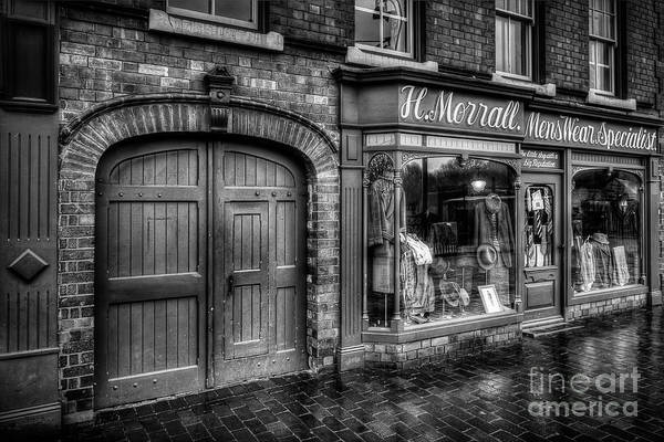 Alley Print featuring the photograph Victorian Menswear by Adrian Evans