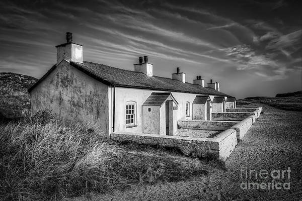 Anglesey Print featuring the photograph Pilot Cottages by Adrian Evans