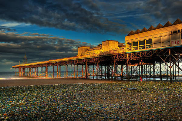 Beach Print featuring the photograph Victorian Pier by Adrian Evans