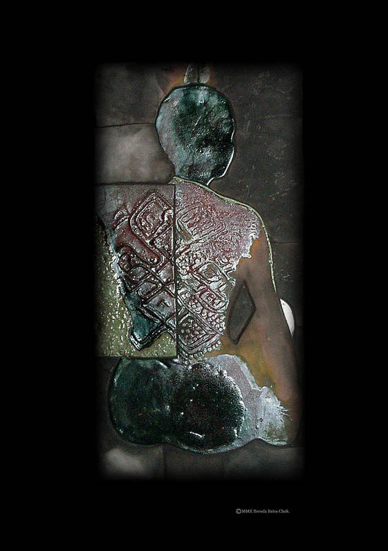 Print Print featuring the ceramic art Ritual Transformation by Bates Clark