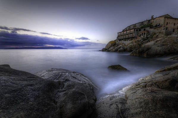 Sea Print featuring the photograph Cala Del Saraceno by Tommaso Di Donato