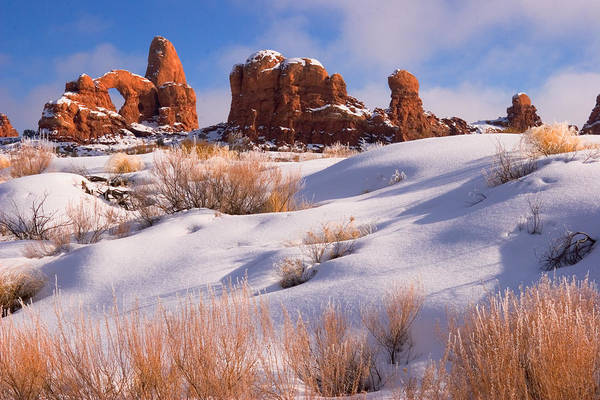 Turret Arch Print featuring the photograph Arches National Park by Utah Images