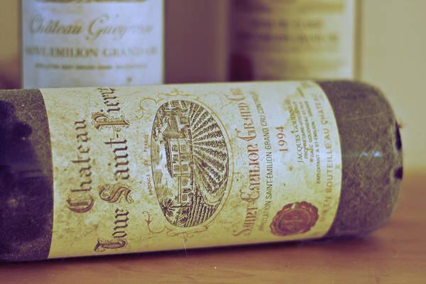 Saint Emilion Wine Print featuring the photograph Chateau Tour Saint Pierre by Georgia Fowler