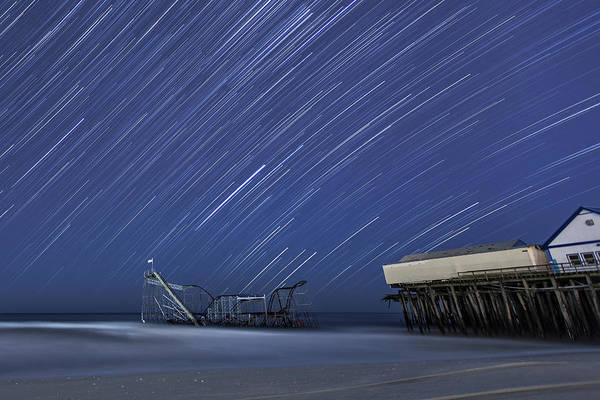 Hurricane Print featuring the photograph Star Spangled by Mike Orso