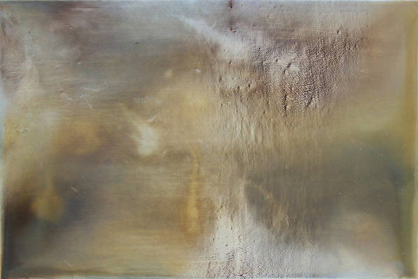 Abstract Expression Oil Painting Texture Sublime Print featuring the painting Prologue by Ian Hemingway