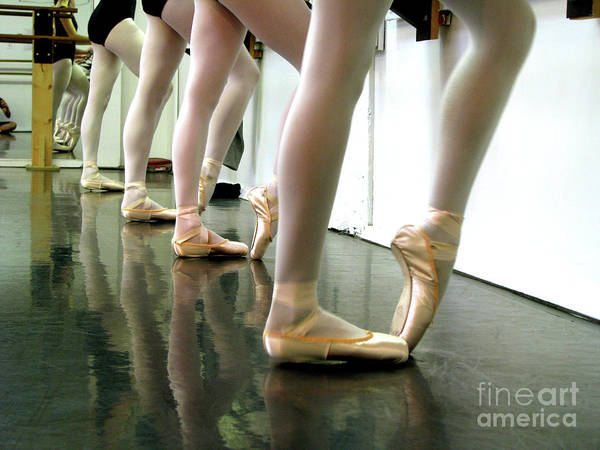Ballet Print featuring the photograph Ballet In Studio by Chiara Costa