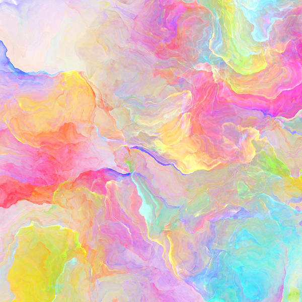 Abstract Print featuring the painting Eloquence - Abstract Art by Jaison Cianelli