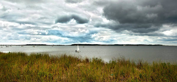 Cape Cod Print featuring the photograph Before The Storm by Michael Joyce