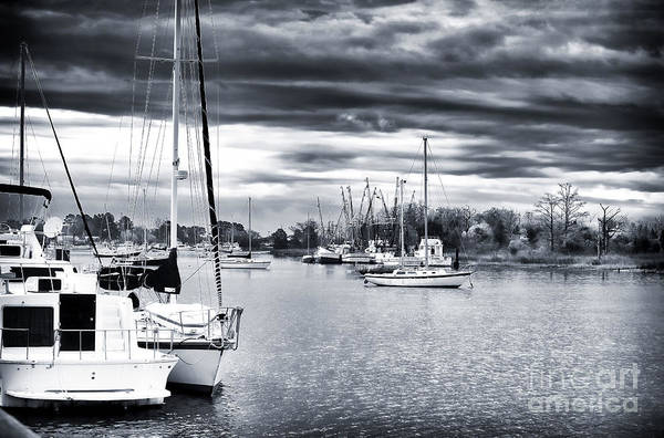 Boat Blues Print featuring the photograph Boat Blues by John Rizzuto