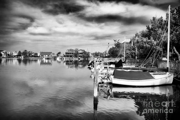 Boats Of Long Beach Island Print featuring the photograph Boats Of Long Beach Island by John Rizzuto