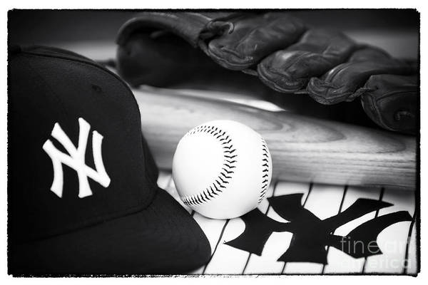 Pastime Essentials Print featuring the photograph Pastime Essentials by John Rizzuto