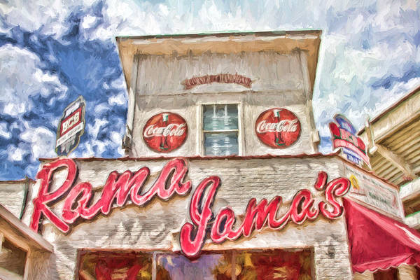 Coke Print featuring the photograph Rama Jama's by Scott Pellegrin