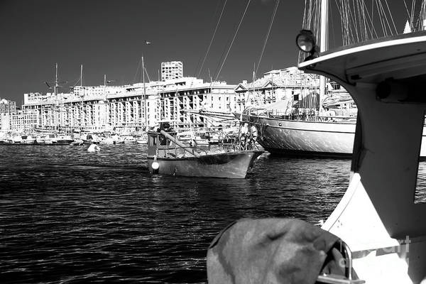 Coming Home In Marseille Print featuring the photograph Coming Home In Marseille by John Rizzuto