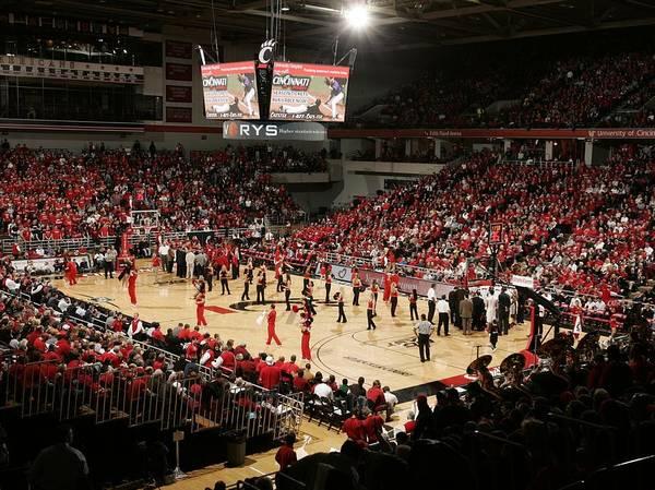 Cincinnati Print featuring the photograph Cincinnati Bearcats Fifth Third Arena by Replay Photos