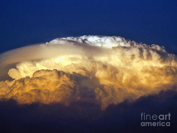 Clouds Print featuring the photograph Dark Clouds - 3 by Graham Taylor