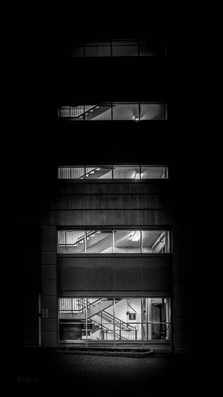 Night Print featuring the photograph Outside Looking In by Bob Orsillo