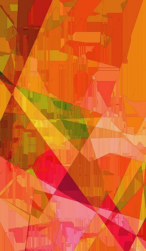 Sorbet Dreams Print featuring the digital art Sorbet by Wendy J St Christopher