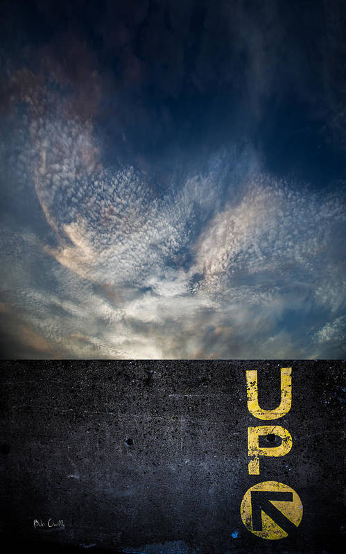 Up Print featuring the photograph Up At Sunrise by Bob Orsillo